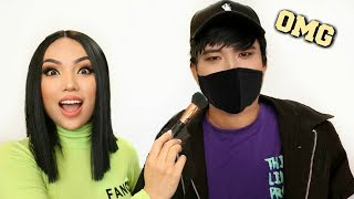 Turning my Dad into KPOP STAR !!! (20 years Younger)