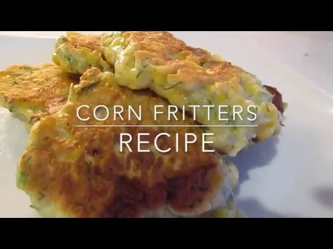 Corn Fritters | Leftover Corn on the Cob