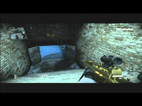 call of duty ghost : fright interactive gate + door