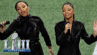 Chloe x Halle Sing America the Beautiful | Super Bowl LIII NFL Pregame