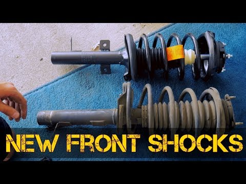 How To Replace Front Shocks (Springs And Struts) In A Ford Focus, 2001 Focus, All Years Nearly same