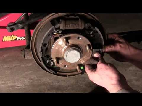 How-To Replace Rear Drum Brakes : 2001 Mazda Protege Example
