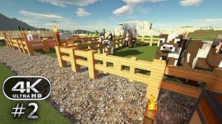 Minecraft 4K Ultra Graphics Gameplay #2 - Minecraft 4K RTX 60FPS (Minecraft Survival)