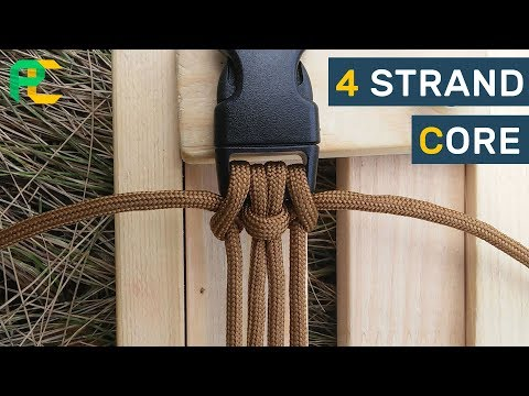 4 strand core for paracord bracelet