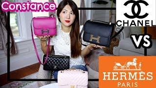 Hermes Constance Mini Vs 24   Chanel Classic Flaps   Comparison, What Fits, Price Etc   Charis