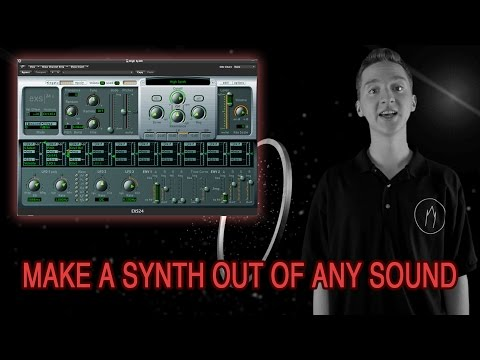 Make your own synth with Logic Pro