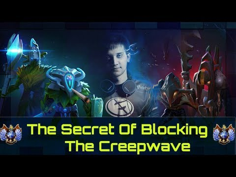 How Pro Players Block The Creep wave | Dota 2 Guide