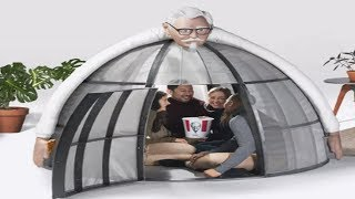 Keep Your Family in A KFC Cage This Holiday Season for $10k
