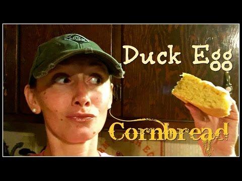 Amazing Duck Egg Cornbread!~
