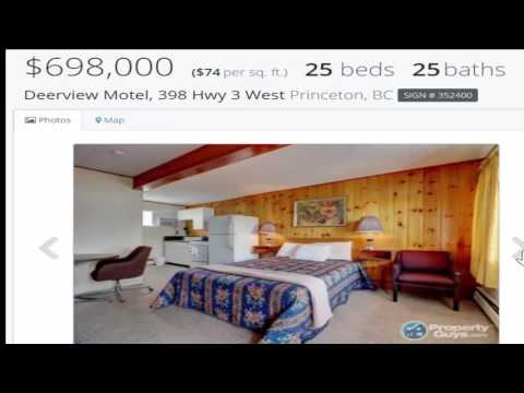 Deerview Motel, 398 Hwy 3 West Princeton, BC Apartment Blocks Multi-Unit Investment Revenue