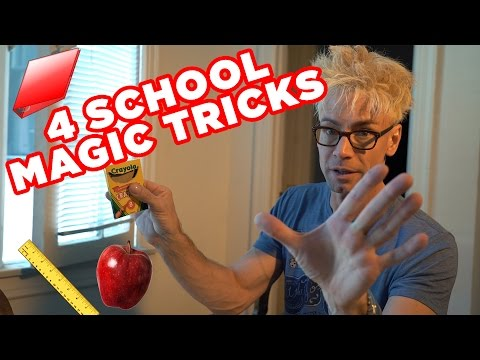 TOP Magic Tricks To Impress Your Friends At School