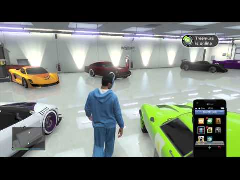 Tutorial: How to move your cars around in your garage.