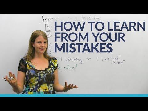 Why you should make mistakes, and how to learn from them