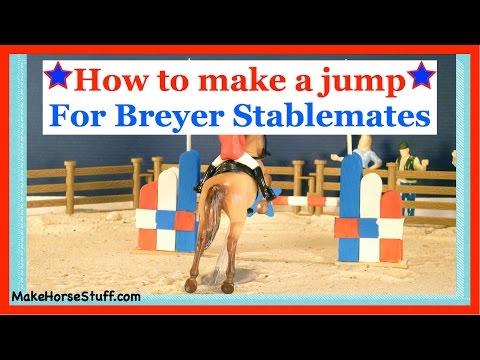 Make a Breyer Stablemate Jump