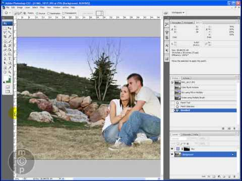 Getting Greener Grass and Bluer Skies in Photoshop