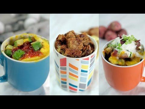 3 Back to School Microwaveable Breakfast Mug Recipes!