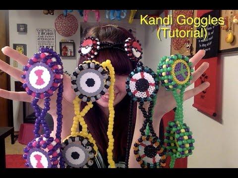 How to make Kandi Goggles (Tutorial)