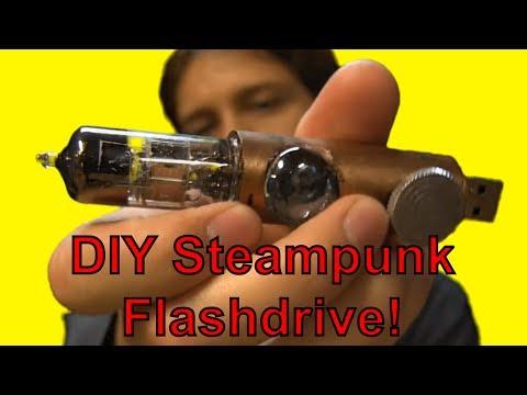 How to Make a Steampunk Flashdrive (DIY)