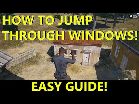 PUBG TIPS: HOW TO CROUCH JUMP THROUGH WINDOWS, CROUCH JUMP GUIDE