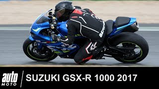 2017 SUZUKI GSX-R1000 Magny-Cours ESSAI Auto-Moto.com