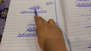Urdu Paper presentation for FSc 1st year