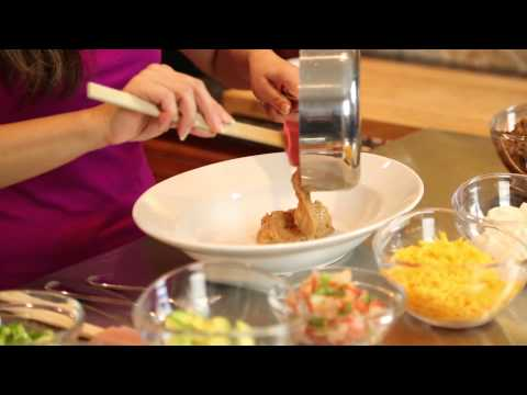 Layer Dip Recipe: Hamburger, Sour Cream & Refried Beans : Quick & Easy Dishes