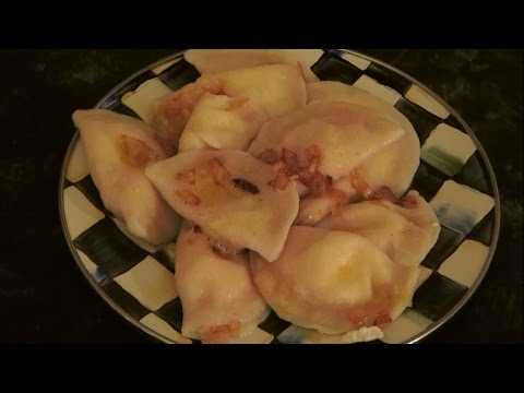 Pierogies with Farmers Cheese
