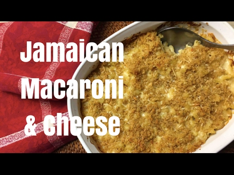 Easy Cheesy Jamaican Macaroni & Cheese
