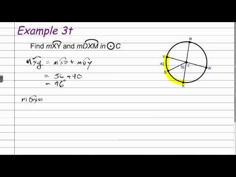 10-6 Geometry Circles and Arcs.mov