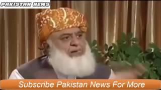 Molana Fazal Ur Rehman 2017|Interview|The Real Face Behind him