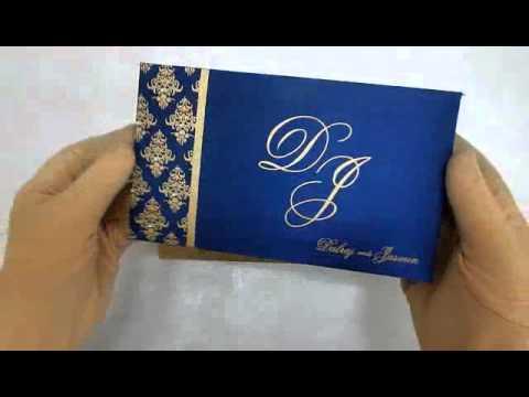 I-202 | Indian Wedding Cards | theweddingcardsonline.com