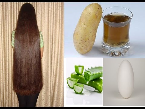 How to get super long shiny silky  smooth thick healthy hair ~ grow hair 2 inch in 10 days
