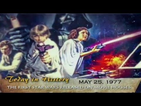 The first Star Wars movie released in 1977 | Today in History