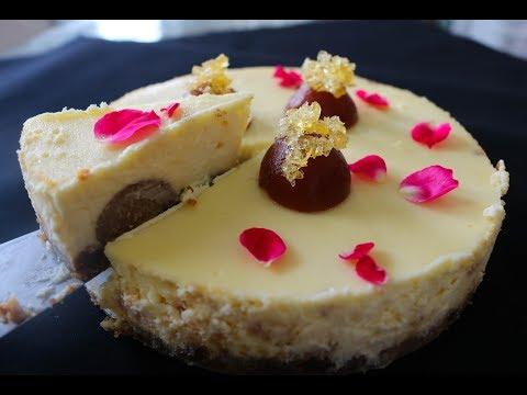 Instant Pot Gulab Jamun Cheesecake   Episode 028
