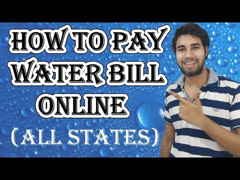 How to Pay Water Bill Online |  All States