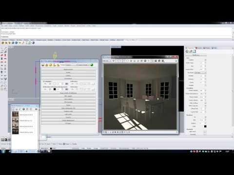 Architectural Interior Scene Renderings using V-Ray 2.0 for Rhino