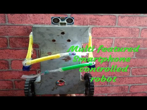 How to make Bluetooth controlled robot which can walk