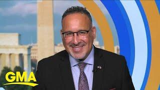 US secretary of education joins 'GMA3'