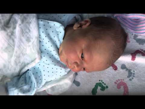 First Day with a Newborn Baby Boy - 1 Day Old Part 2