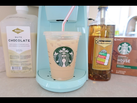 Starbucks At Home | Iced Caramel White Mocha Recipe