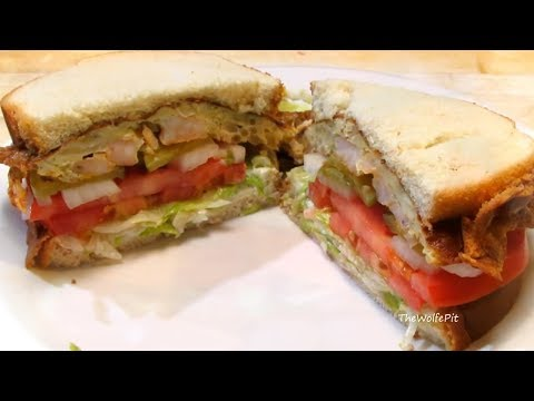 The Weird....But Delicious....St. Paul Sandwich!