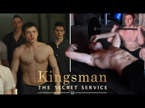 I Tried Taron Egerton's Kingsman's The Secret Service Workout