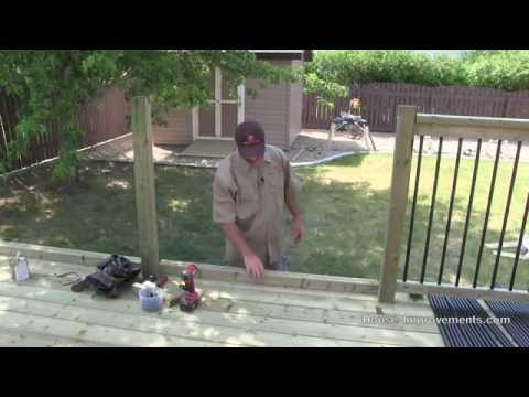 How To Build A Deck | #4 Railing