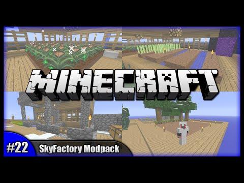 Sugar Cane, Rubber & Grinders! || Minecraft SkyFactory Modpack (Modded Minecraft) [Episode 22]