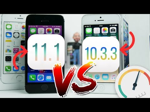 IOS 11.1 iPhone 5 is FASTER than 5s? Latest firmwares comparison