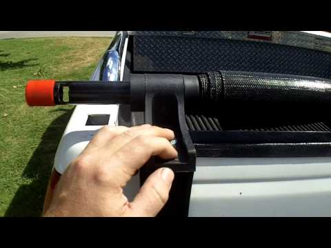 Harbor Freight Truck Bed Cargo Unloader Review Item 60800