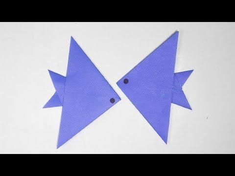How to Make a Cute Fish (2) / aquarium fish /  _DIY Paper Craft Ideas #55
