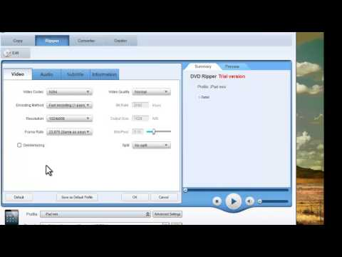How to rip dvd to ipad mini with DVDFab DVD Ripper