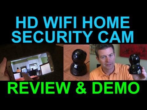 Archeer HD WiFi Security Camera Demo Review Wireless Surveillance Cam MIPC Android iPhone PC