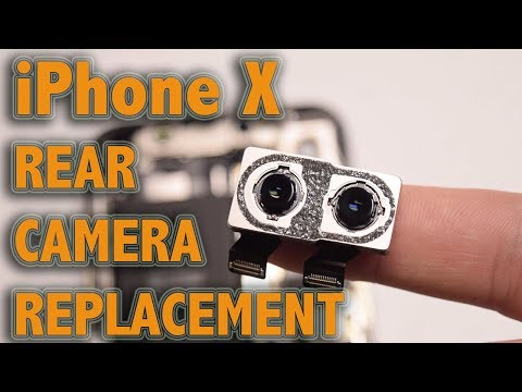 iPhone X Rear Camera Replacement